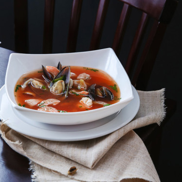 Марсельский суп с морепродуктами